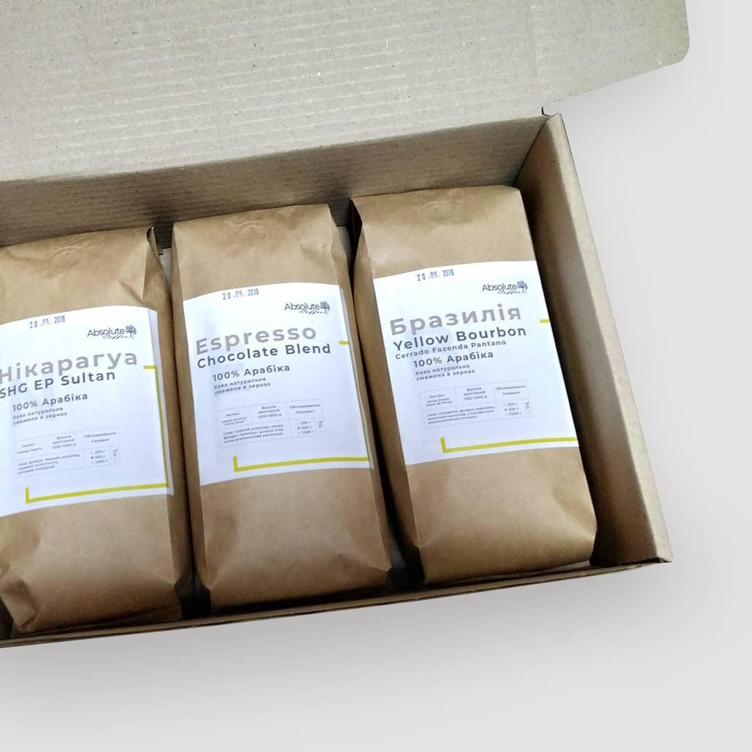 Абсолют кофе - свежеобжаренный кофе в зернах