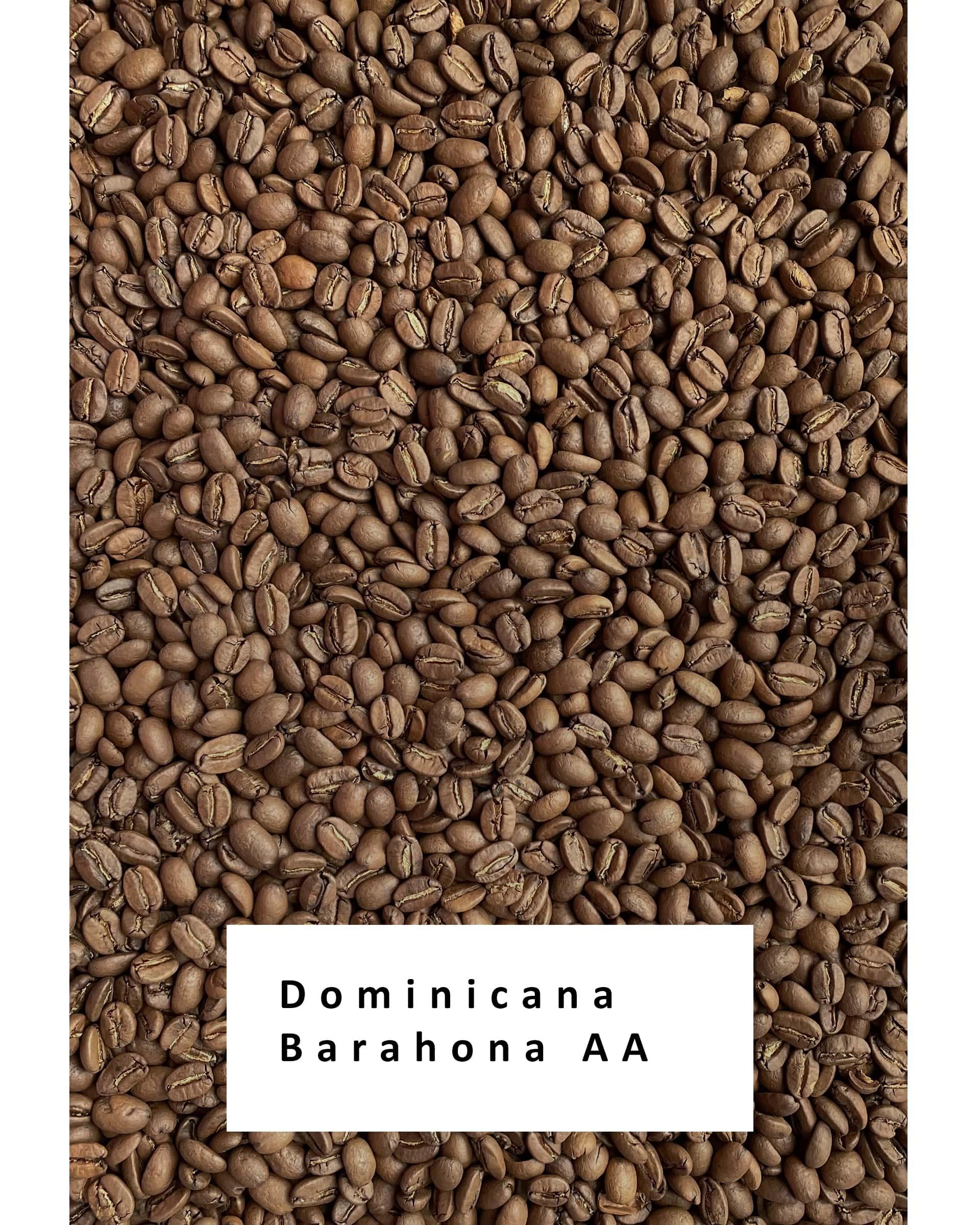Свежеобжаренный кофе в зернах Доминикана