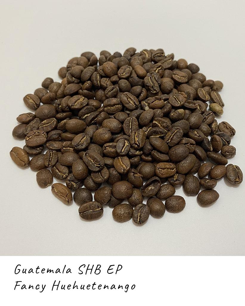 Свежеобжаренный кофе в зернах Гватемала Уэуэтенанго