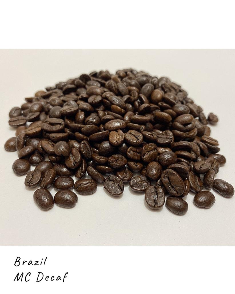 Свежеобжаренный кофе в зернах Бразилия Декаф