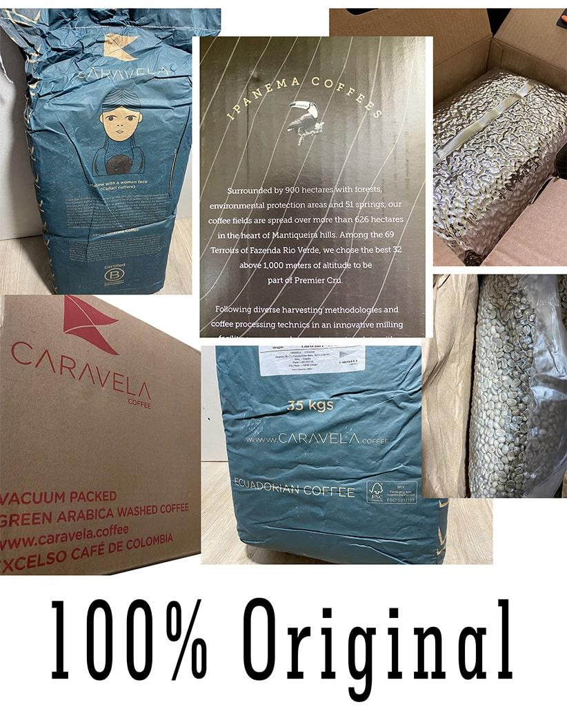 Свежеобжаренный кофе в зернах Пробный набор 4 сортов арабики по 50 грамм | exclusive id=
